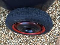 Ford Focus spare wheel