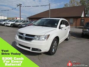 2009 Dodge Journey R/T * LEATHER * PWR ROOF * 7PASS * AWD