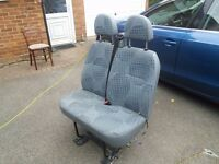 Ford Transit MK7 front double passenger seat