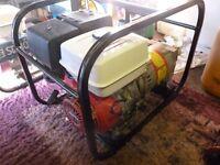 honda gx270 petrol generator 9hp 3.5kva