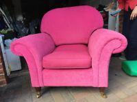 Laura Ashley armchair for sale.