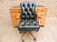 DUCAL Chesterfield Desk + Chair (UK Safe Delivery)