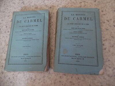 1866.Montée carmel et nuit obscure ame.2/2.Saint Jean de la