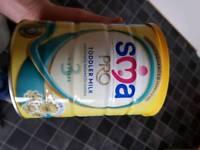 SMA stage 3 milk