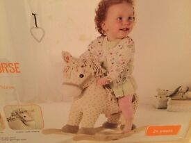 Wooden Rocking Horse. Unwanted gift. Brand New.