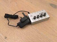 Behringer HA400 - 4 way headphone amplifier with PSU