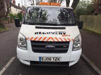 2006 ford transit recovery truck