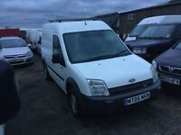 05 ford transit 230 lwbase hightop in vgcondition ply lined like new inand out drives superb 1yr mot
