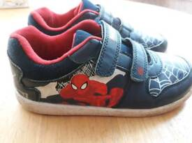 Size 1 Spiderman trainers