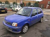 Nissan Micra Automatic Good Runner with history and long mot