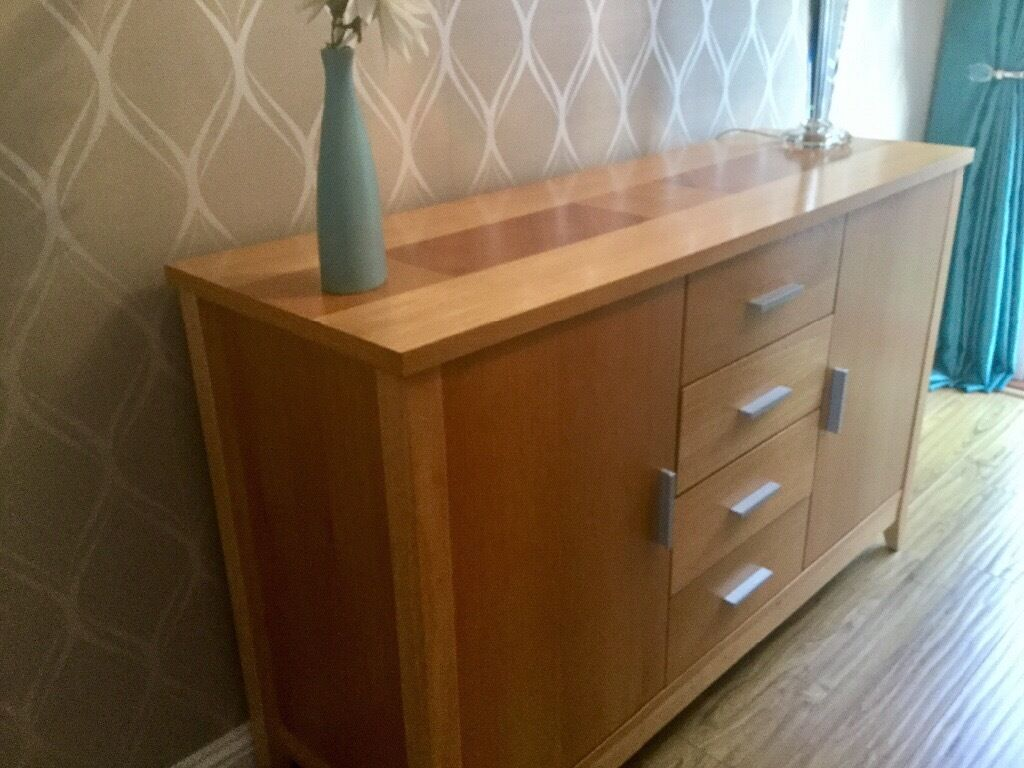 Table 4 Chairs Sideboard Amp Nest Of Tables All Matching 163