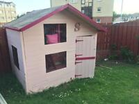 Girls playhouse playshed dolls house summerhouse