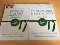 2 LAW BOOKS - KEY STATUTES