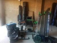 Match fishing set up