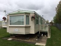 Static Caravan - Atlas Oakwood Super 8 Berth. Sited in Ingoldmells Skegness. Absolute bargain.