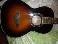 ibanez avn1 parlour guitar,mint