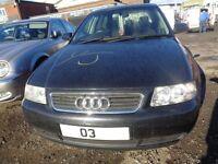 BREAKING --- Audi A3 SE 1,6L Petrol --- 2003