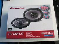"Pioneer TS-A6813i 6"" x 8"" 3-way Coaxial Car Speakers 350W"