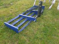 Nos tractor 6ft three point linkage land leveller grader never been used