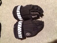 Junior Warrior Ice Hockey Gloves Age 6-10