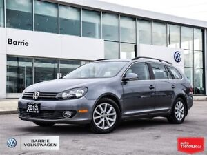 2013 Volkswagen Golf 2.0 TDI Comfortline; great on fuel! Huge Tr