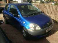 Cheap Toyota Yaris for grabs
