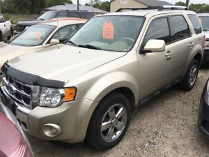 2011 Ford Escape Limited CALL 519 485 6050 CERTIFIED