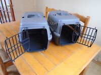 2x PET CARRIERS FOR SALE - £5 each
