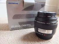 ( Boxed ) Olympus Digital Zuiko 35mm f/3.5 macro SLR lens - Standard Four Thirds system