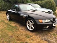 1997 BMW Z3 CONVERTABLE 1895cc TESTED 17/12/2018 NO ADVISORIES, SOLD AS SPARES OR REPAIRS