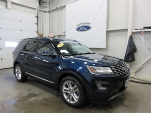2017 Ford Explorer Limited, PRE-PAID MAINTENANCE PACK INCLUDED