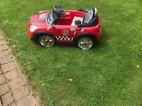 Mini toy car 12volt