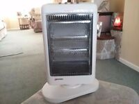Electric portable room heater