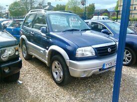 2005 Suzuki grand vitara 1997 cc diesel only 85.000 miles full MOT full history 3 door 4+4