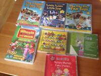 Nursery rhyme DVD's and CD's
