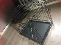 Pet dog cat puppy crate cage