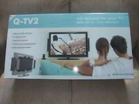 Q Acoustics Q-TV2 HD Sound for your TV. Fantastic. Brand New. Still in its carton.