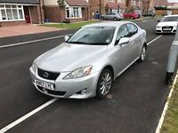DIESEL 2007 LEXUS IS 220 D , 11 MONTH MOT, DRIVES EXCELLENT, GOOD COSMETIC, LUXURY CAR,LEATHER SEATS