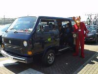 1985 VW T25 Caravelle Transporter T3