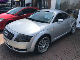 audi tt 180 hp in very good condition full unmaked leather new cambelt turbo alloys loverly car