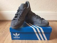 Men's Adidas Stan Smith Grey Suede Size 7