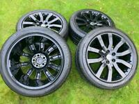"20""Range Rover Sport VW Transporter T6 T5 Alloy Wheels Tyres Highline Sportline Stormer"