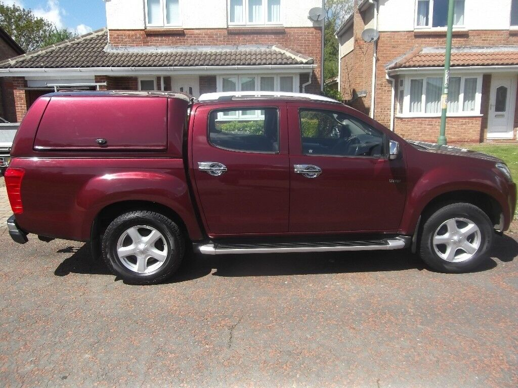 Isuzu D-Max UTAH 2.5 twin turbo, my car is for sale reluctantly due to my companies' re structure.