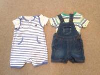 Baby boy clothes age 0-3 months 42 items