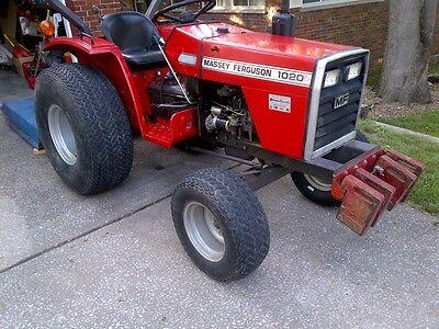 Mf Massey Ferguson Tractor 1010 1020 Shop Service Repair Manual Mf1010 Mf1020 Cd