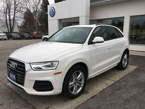 2016 Audi Q3 Komfort- Like NEW Condition