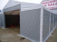 shed , storage tent , tent garage , warehouse tent , storehouse tent