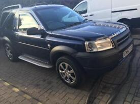 LANDROVER FREELANDER 2002 95,000 miles MOTD GREAT CONDITION ONLY £875