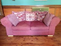 Pair of Collins and Hayes matching sofas in good condition
