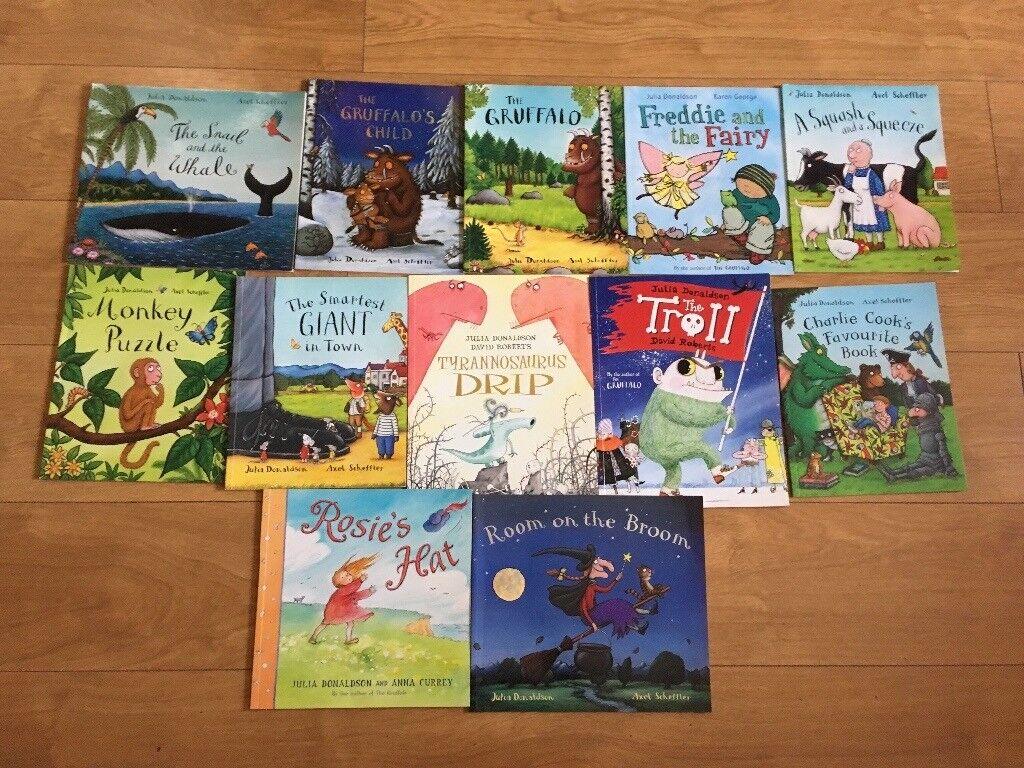 Bundle of 12 Julia Donaldson Books